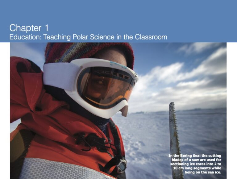 Chapter 1: Teaching Polar Science (Photo Credit: Christian Morel)