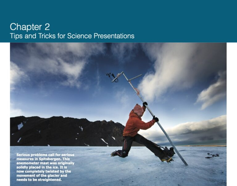Chapter 2: Tips and Tricks for Science Presentations