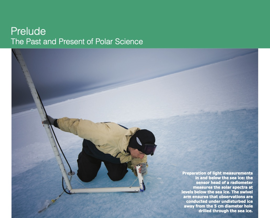 Prelude: The Past and Present of Polar Science (Photo Credit: Christian Morel)